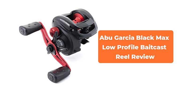 Abu Garcia Black Max Low Profile Baitcast Reel Review