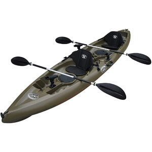 BKC UH-TK181 Tandem 2 Person Fishing Kayak