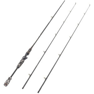 Entsport E-Series Camo Legend Bait Casting Rod