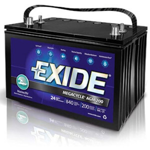 Exide XMC-31 MegaCycle Dual Purpose Battery