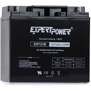 ExpertPower EXP12180 Lead Acid Battery