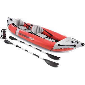 Intex Excursion Professional Inflatable Fishing Kayak