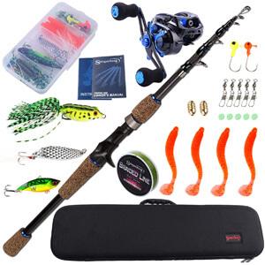 Sougayilang Baitcasting Combo Fishing Kit