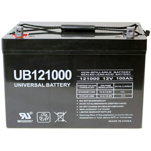 Universal Power Group 12V Deep Cycle Battery