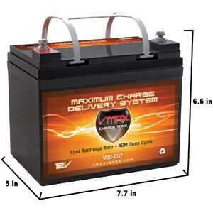 VMAXTANKS Hi-Performance Marine Deep Cycle Battery